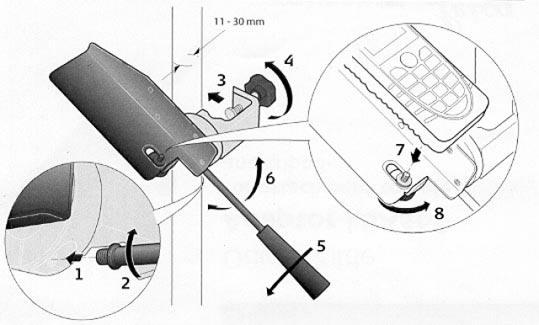 Адаптер LSA360 для установки лазерных дальномеров